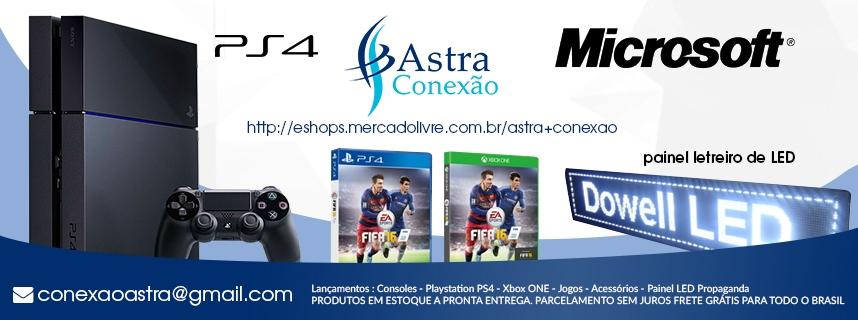 Astra Conexão Games e Celulares
