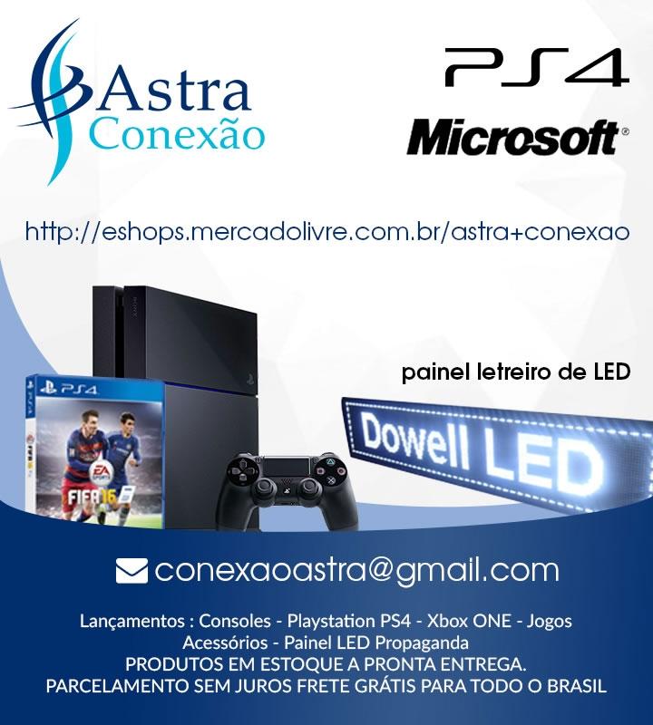 Astra Conexão - Games e Celulares